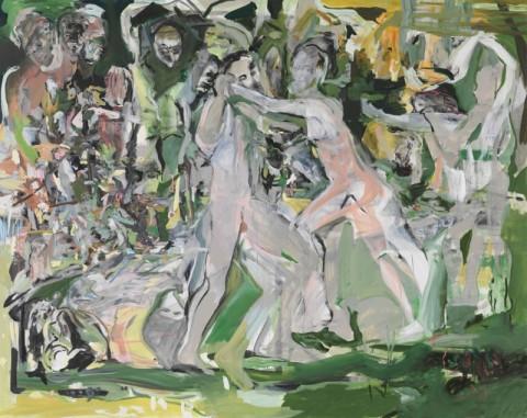 Cecily Brown - Jungle Treatment, 2013-2014 olio su lino, 276,9 × 434,3 cm Courtesy dell'artista e Gagosian Gallery Immagine © Cecily Brown. Courtesy Gagosian Gallery Foto Robert McKeever