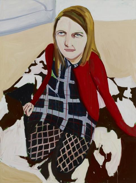 Chantal Joffe, Bumptious Mansions, 2014, Courtesy the Artist, Victoria Miro Gallery, Collezione Maramotti,© Chantal Joffe