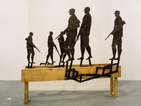 Collezione Arco - Juan Munoz, Hunter, 1988