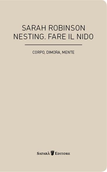 Copertina Nesting - Safarà Editore