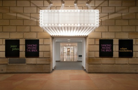 Dancing around the bride – veduta della mostra presso il Philadelphia Muséum of Art, 2012-2013