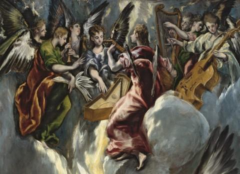 El Greco, Annunciazione, 1597-1600, Madrid, Museo Nacional del Prado, part. © Museo Nacional del Prado, Madrid