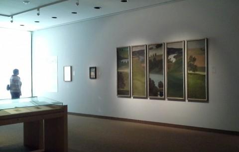 Exhibition view, Untiteled. Aare Landscape