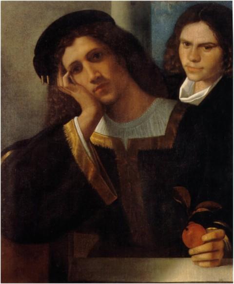 Giorgione - Doppioritratto - Roma, Museo Nazionale di Palazzo Venezia