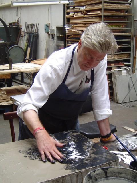 David Lynch al lavoro
