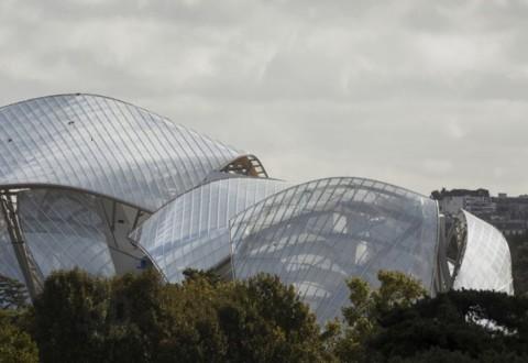 La nuova Fondation Louis Vuitton, a Parigi (foto Fondation Louis Vuitton)