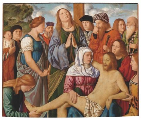 Luini, Compianto su Cristo morto, 1508 ca