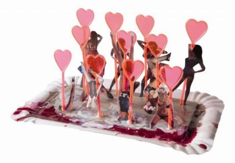 Marriageable Girls, 9 x 17 x 10 cm (2014)