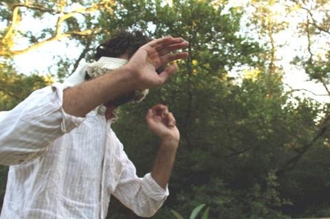 Nico Angiuli - Chiuder gli occhi, performance collettiva