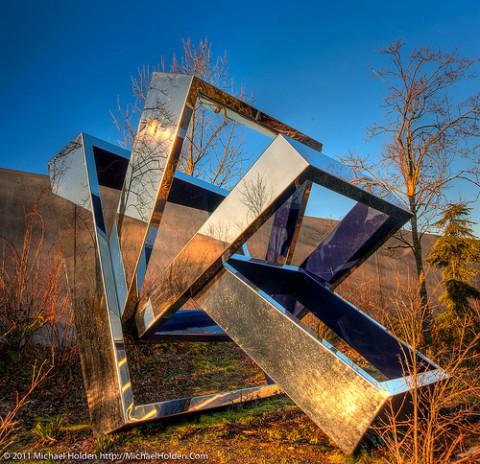Beverly Pepper - Perre's Ventaglio III - Olympic Sculpture Park, Seattle