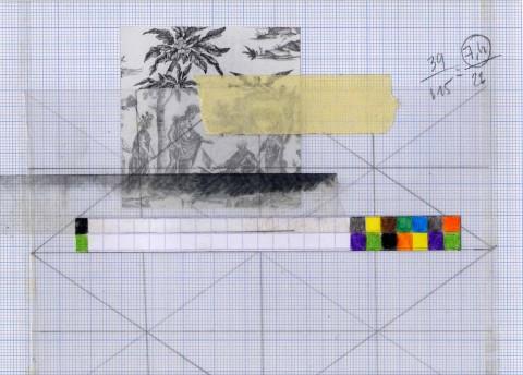 Progetto L'ARTOTHEQUE, Coraline de Chiara, Collage, 2013 © Coraline de Chiara