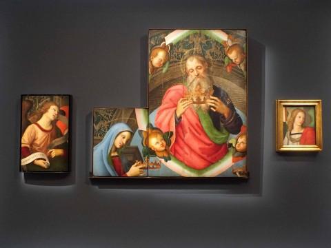 Raffaello Sanzio, Pala di San Nicola da Tolentino o Pala Baronci, 1500-1501 © SilviaNeri
