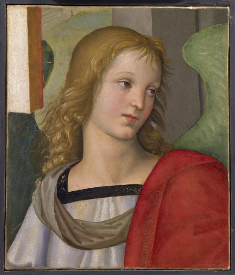 Raffaello Sanzio e Evangelista da Pian di Meleto, Angelo, 1500-1501, Pinacotecta Tosio Martinengo, Brescia © Pinacoteca Tosio Martinengo – Brescia