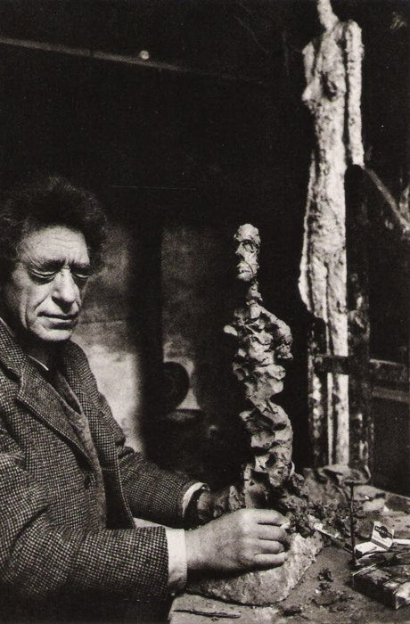 René Burri - Alberto Giacometti, Paris, France, 1960 (© Renè Burri)