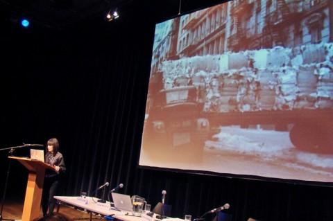 RoseLee Goldberg, direttrice artistica di Performa (New York)