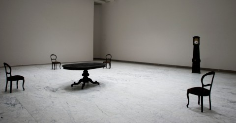 Gian Maria Tosatti, Spazio #06, 2012, environmental installation - dettaglio