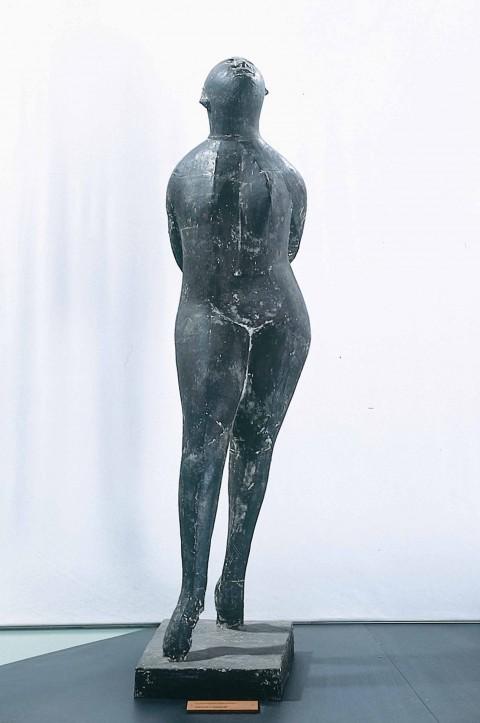 Marino Marini, Danzatrice, 1952-53, scultura in bronzo