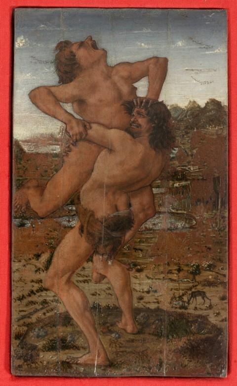 Antonio del Pollaiolo, Ercole e Anteo, 1470-1475 ca. - ©Firenze, Galleria degli Uffizi