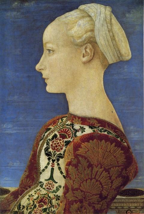 Antonio del Pollaiolo, Ritratto femminile  – Gemäldegalerie, Berlino