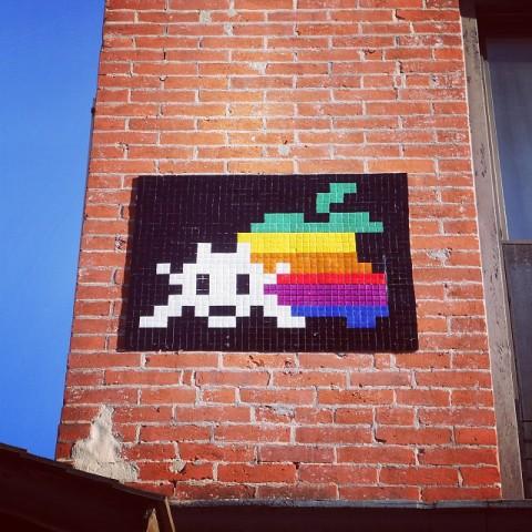 Art4Space, Invader