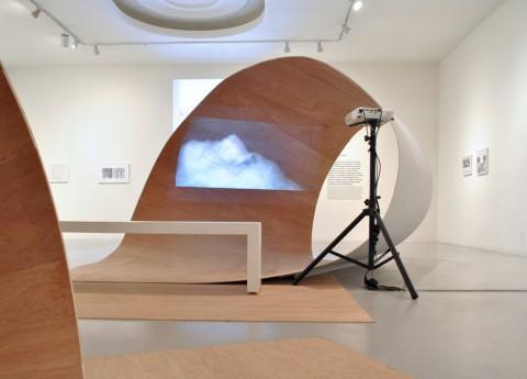Beyond Environment - veduta della mostra presso il LACE, Los Angeles 2014