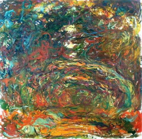 Claude Monet, Sentiero sotto gli archi di rose a Giverny (1922)