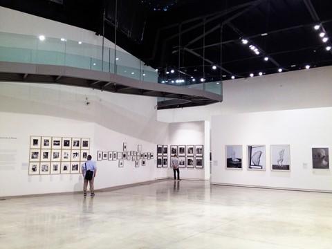 Festival Internazionale della Fotografia di Roma - Portrait - veduta dell'allestimento -Roma 2014