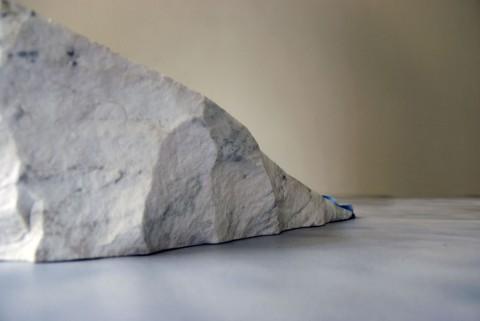 Gianni Caravaggio. Sotto la superificie, la verità della concretezza (Alpi), dettaglio, 2012. Courtesy Tucci Russo Studio per l'Arte contemporanea Torre Pellice