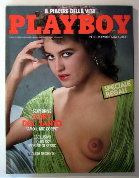 Lory Del Santo in una vecchia copertina di Playboy... correva l'anno 1984
