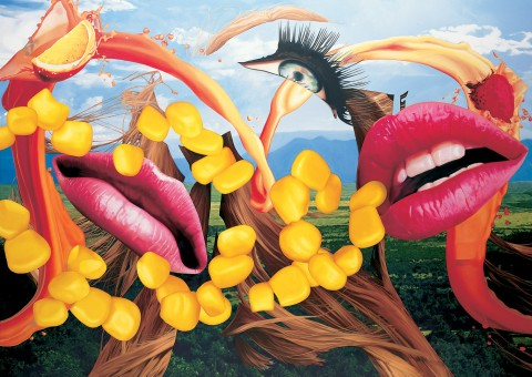 Jeff Koons, Lips, 2000 - Deutsche Guggenheim, Berlino