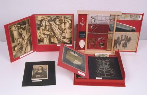 Marcel Duchamp – Boîte-en-valise, 1935-1941 - Fundació Joan Miró, Barcelona. Donación de Alexina Duchamp.