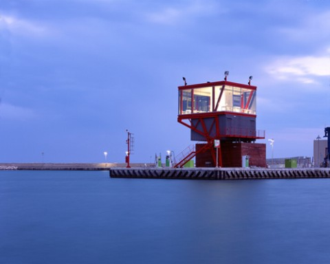 Maria Giuseppina Grasso Cannizzo, Torre di controllo, Marina di Ragusa - photo Hélène Binet