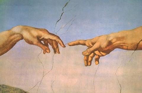 Michelangelo Buonarroti, Creazione di Adamo, 1510-11