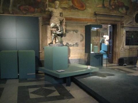 Musei Capitolini, Lo Spinario nella Sala dei Capitani (27 maggio 2014)