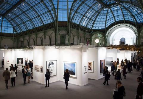 Paris Photo 2014, Grand Palais, vista da l'alto