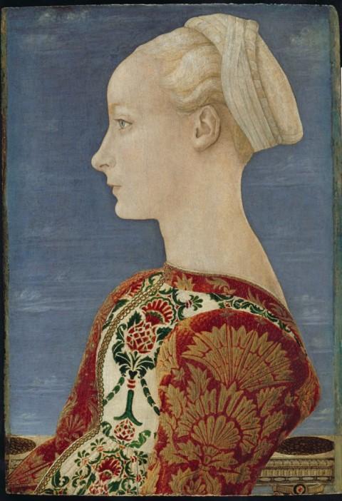 Piero del Pollaiolo, Ritratto di giovane donna, 1465 - ©Berlino, Gemäldegalerie, Staatliche Museen zu Berlin, Preußischer Kulturbesitz