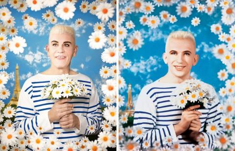 Pierre et Gilles - Jean Paul Gaultier (1990) - by Sandro Miller, 2014