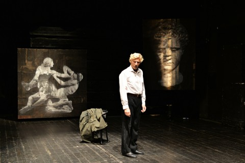 Quarta dimensione, Agamennone, Parma, TeatroDue, photo Michele Lamanna