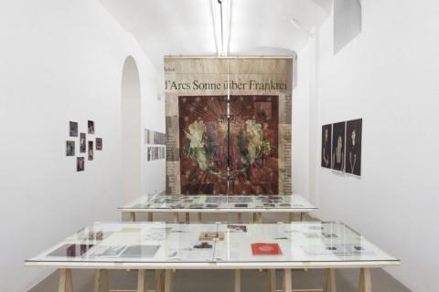 Roma Publications 1998-2014, veduta della mostra presso la Fondazione Giuliani, Roma 2014 - photo Giorgio Benni