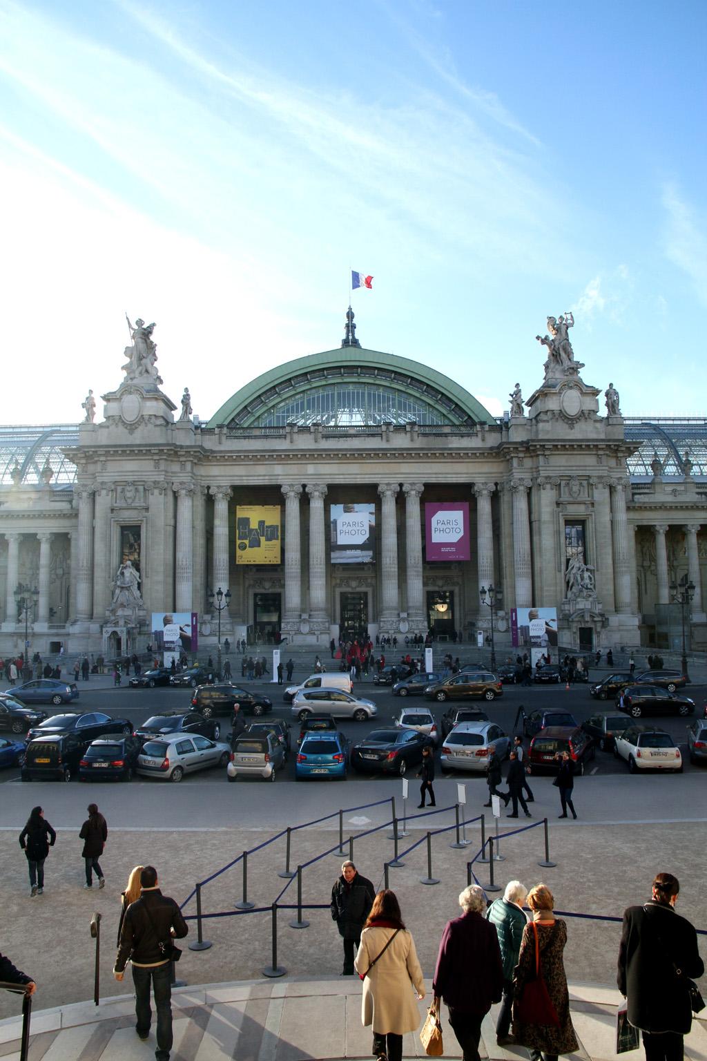 Paris Photo 2014, Grand Palais, vista dall'alto