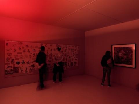 Palais de Tokyo, Vues exposition Inside, crédit photo André Morin