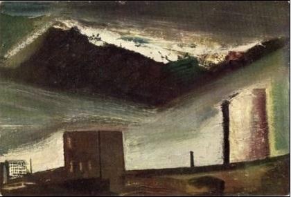 Mario Sironi, Paesaggio urbano, 1946