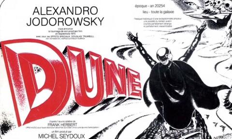 Alejandro Jodorowsky, Dune, 1974