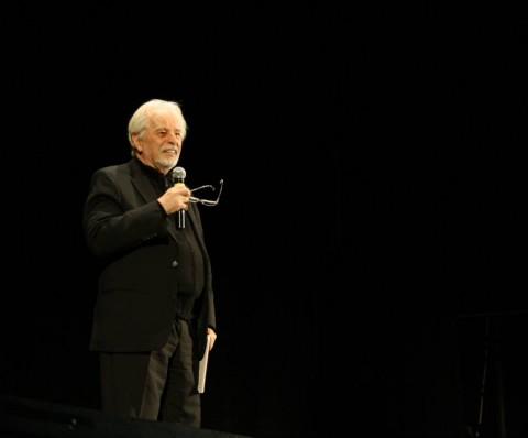 Alejandro Jodorowsky al Teatro Palazzo di Bari, 26 ottobre 2014, courtesy Associazione Noesis