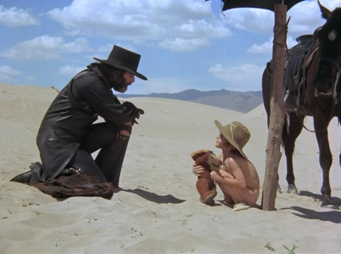Alejandro e Brontis Jodorowsky in El Topo, 1970