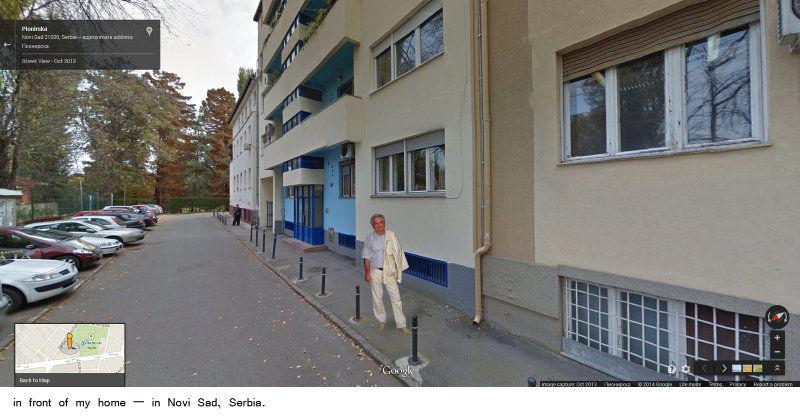 Andrej Tisma, Google walk through Novi Sad, 2014