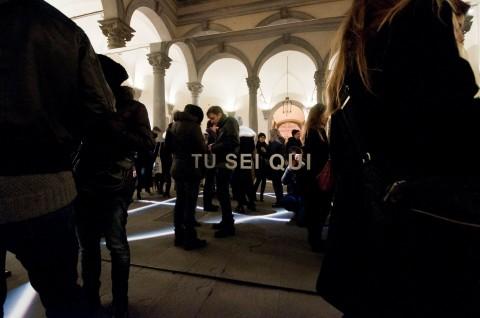 Bianco-Valente, Tu sei qui, Cortile di Palazzo Strozzi, 2014 foto Martino Margheri 04