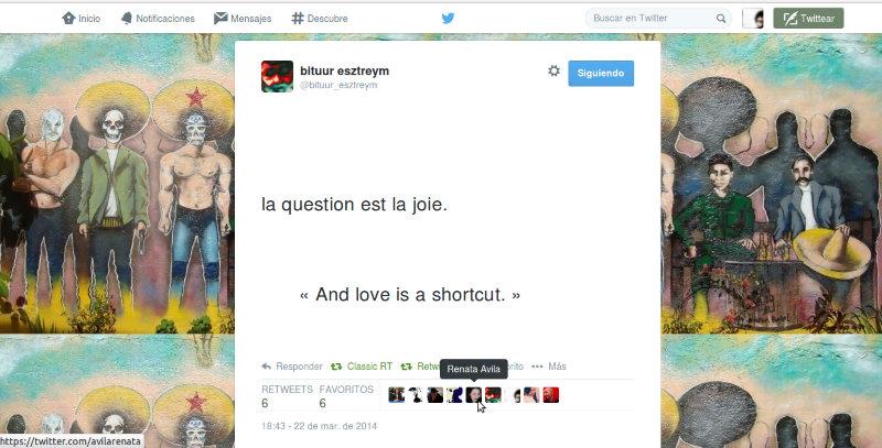 Bituur Esztreym & Renata Avila, La question est la joie, and love is a shortcut, 2014