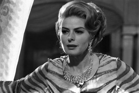 Bulgari per Ingrid Bergman nel film La Vendetta Della Signora, 1963