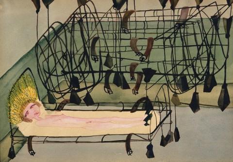 Carol Rama, Appassionata, 1940 - Fondazione Guido et Ettore de Fornaris Galleria d'Arte Moderna e Contemporanea di Torino – photo © Gonella 1999